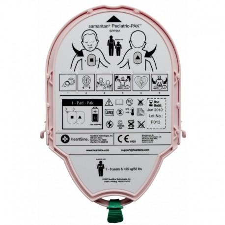 Pad-Pak-04 Pediatric-Pak™  pour Samaritan PAD 360P-350P HeartSine