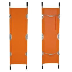 BRANCARD Orange - toile  (pliable en 4) + HOUSSE